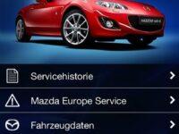 Kfz-Service: Mazda-App für iPhone und Android-Handys