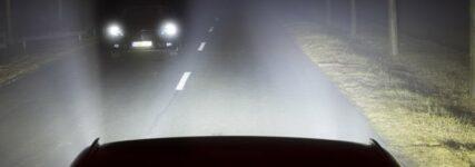 Blendfreies LED-Matrix-Lichtsystem von Opel