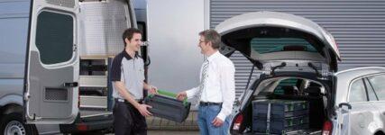 System 'Vario-Car' von Bott für Kofferraummanagement in Kombis und Vans