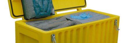 Cemo: Notfallset für Austritt gefährlicher Flüssigkeiten