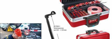 Neuer Werkzeug-Satz für Hybrid- und Elektrofahrzeuge von Hazet