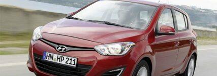 Kleinwagen i20 von Hyundai mit CO2-Spitzenwert