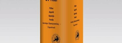Füllern mit UV-Filler von Akzo-Nobel