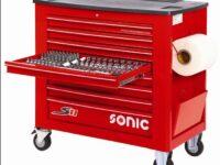 Platz für 644 Werkzeuge: Neuer Werkzeugwagen von Sonic