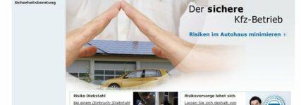 Neues Online-Portal zur Risikovorsorge des ZDK und der Nürnberger/Garanta