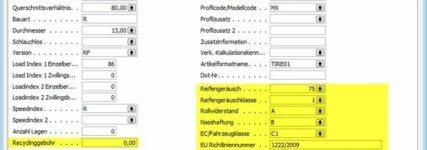 Reifenlabel: Neue Funktionen für Branchenlösung BSS.tire