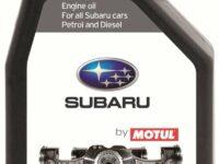 Motorenöl von Motul und Subaru