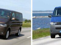 Neue Motorvarianten bei T-Baureihe von Volkswagen