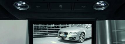Digitaler Innenspiegel im Audi R8 e-tron in Kleinserie