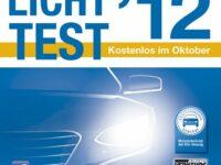 Licht-Test 2012 unter dem Motto 'Sei helle, fahr sicher!'