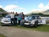 Platz zwei und drei für die Teams des TÜV-Süd bei der e-miglia 2012
