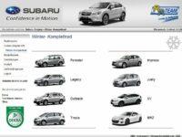 Subaru startet neues Räderportal