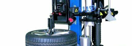 Reifenmontiermaschine Monty von Hofmann für hohen Durchsatz