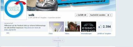 BRV startet auf Facebook mit wdk-Zertifizierung
