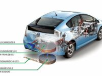 Ohne Kabel: Toyota testet berührungslose Batterieladetechnik