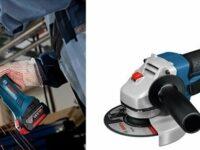 Winkelschleifer von Bosch mit Lithium-Ionen-Akku