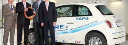 KSPG testet Range Extender