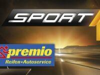 Neue Kooperationspartner: Premio Reifen + Autoservice und Sport1