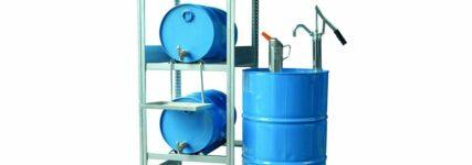Abfüllplätze von Rapid für die Lagerung wassergefährdender Flüssigkeiten