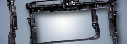 Stahlfreier Frontend-Montageträger von Volkswagen im Golf 7