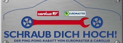 'Ping-Pong-Rabatt' von Euromaster und Carolus