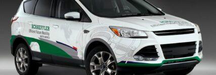 Schaeffler zeigt Demonstrations- und Erprobungsfahrzeuge auf der NAIAS
