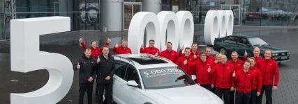 Fünf Millionen: quattro-Technik von Audi hat Jubiläum