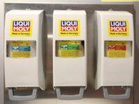 Hautschutzkonzept für Werkstätten von Liqui-Moly