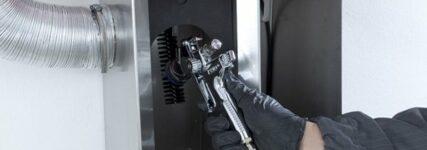 Sata: Lackierpistolen zeitsparend mit dem 'clean RCS compact' reinigen