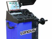 Elektronische Radwuchtmaschine von Longus für Pkw- und Kleintransporterräder