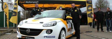 B-Rallye: Die Vorbereitungen auf den Opel Adam Rallye Cup laufen auf Hochtouren