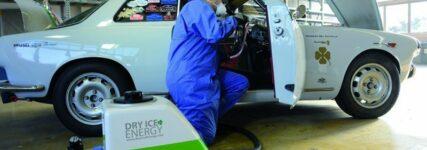 Trockeneisstrahlsystem von Dry-Ice-Energy