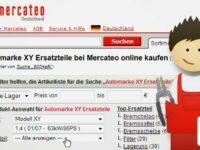 Neue Fahrzeugteilsuche von Mercateo