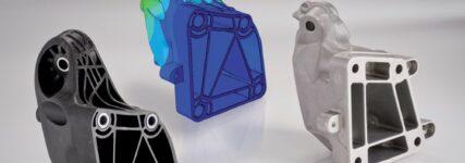 Mercedes-GL: Motorträger aus Kunststoff