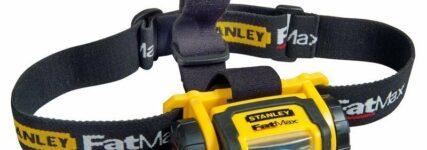 Stirnlampe von Stanley für freihändiges Arbeiten