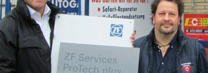Werkstattkonzept ZF Services ProTech im ersten Jahr mit 2.800 Partner