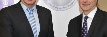 Alter und neuer ASA-Vizepräsident: Harald Hahn im Amt bestätigt