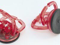 Minisaugheber-Set von Sauer mit Kunststoffgehäuse und Gummisaugnapf
