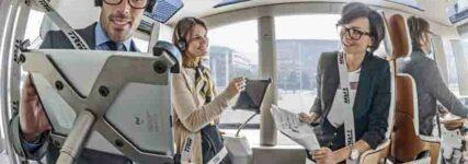 Gurtkonzept von TRW für Mini-Bus 'Micromax'
