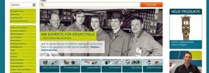 HC-Cargo mit neuem Online-Shop und integriertem Katalog