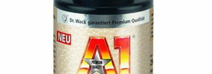 Lederreiniger 'A1' von Dr. Wack entfernt tief sitzenden Schmutz