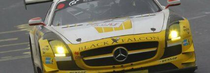 24h-Nürburgring: Black Falcon und ROWE Racing setzen auf Dunlop