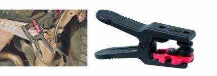 Klemme von KS Tools verhindert Austreten von Flüssigkeiten