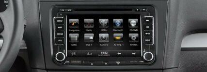 Neues Nachrüst-Radio-Navi-System für Fahrzeuge der Volkswagen-Gruppe