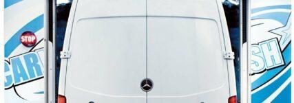 Portalwaschanlage von WashTec für Pkw und Transporter