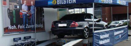 Fahrwerksanalyse mit mobilem Tester von Bilstein