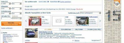 Gebrauchtwagen-Handel: Rücknahme eines Auktionsangebots im Internet rechtens