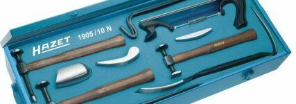 Ausbeulwerkzeugsatz von Hazet für kleinere Beulen an der Karosserie