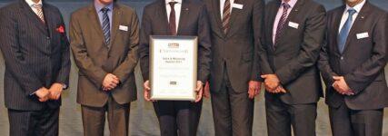 Temot zeichnet Hazet als 'Lieferant des Jahres 2012' aus