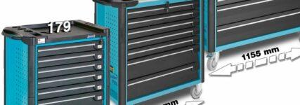 EXTRABREIT – Neue Werkzeugwagen von Hazet